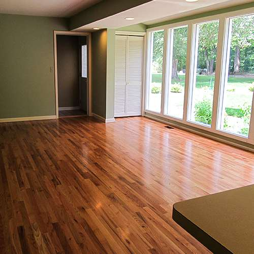 Oak Floors Refinishing - Wood Floor Refinishing - Tulsa, Oklahoma